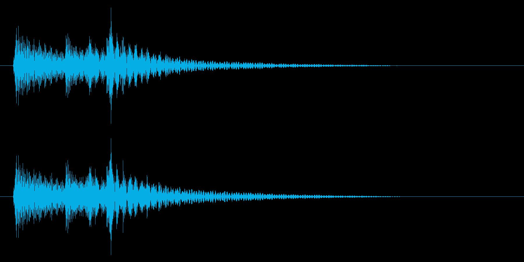 民族系/打楽器/ゲームクリアの再生済みの波形