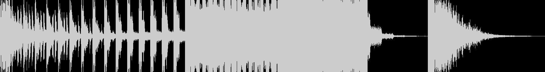 オープニング煽り効果SE(EDM)の未再生の波形