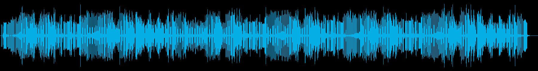 3分クッキングのテーマをイメージした曲の再生済みの波形
