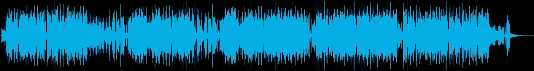 ジャズ・ビッグバンド風のかわいいポップの再生済みの波形