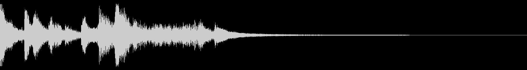 【生演奏】箏がかっこいい和風アイキャッチの未再生の波形