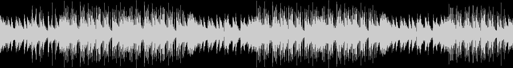 レトロ・お洒落・サブカル・ピアノ・ループの未再生の波形
