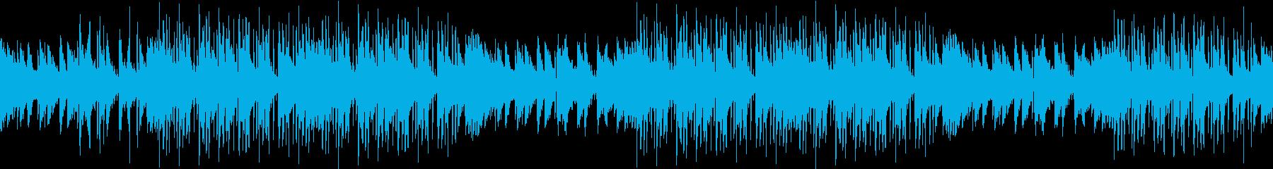 レトロ・お洒落・サブカル・ピアノ・ループの再生済みの波形