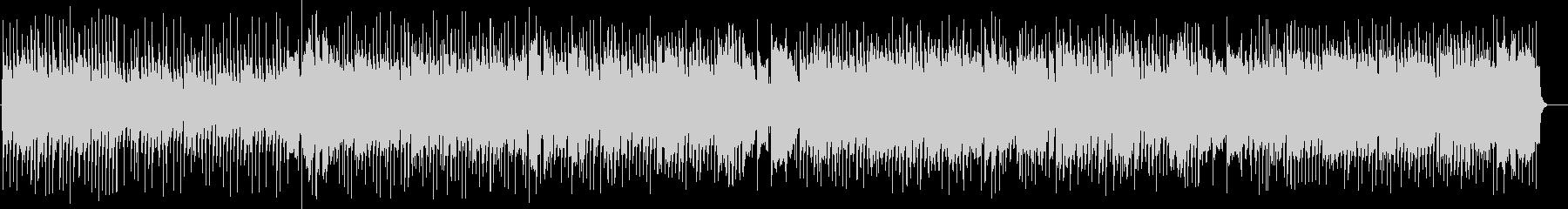 映像作品向け:ノリが良いピアノのブギ―の未再生の波形