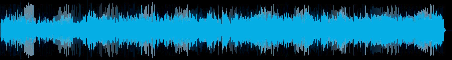 映像作品向け:ノリが良いピアノのブギ―の再生済みの波形