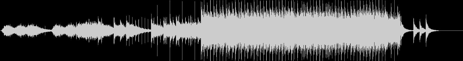 切なげな琴とエレピのシンプルな和風EDMの未再生の波形
