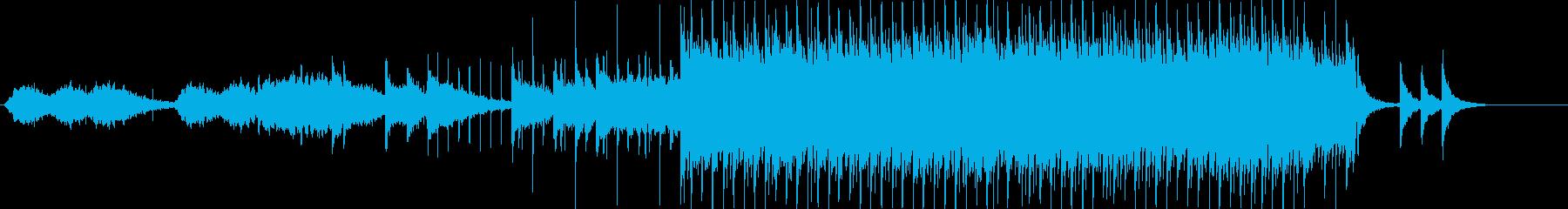 切なげな琴とエレピのシンプルな和風EDMの再生済みの波形