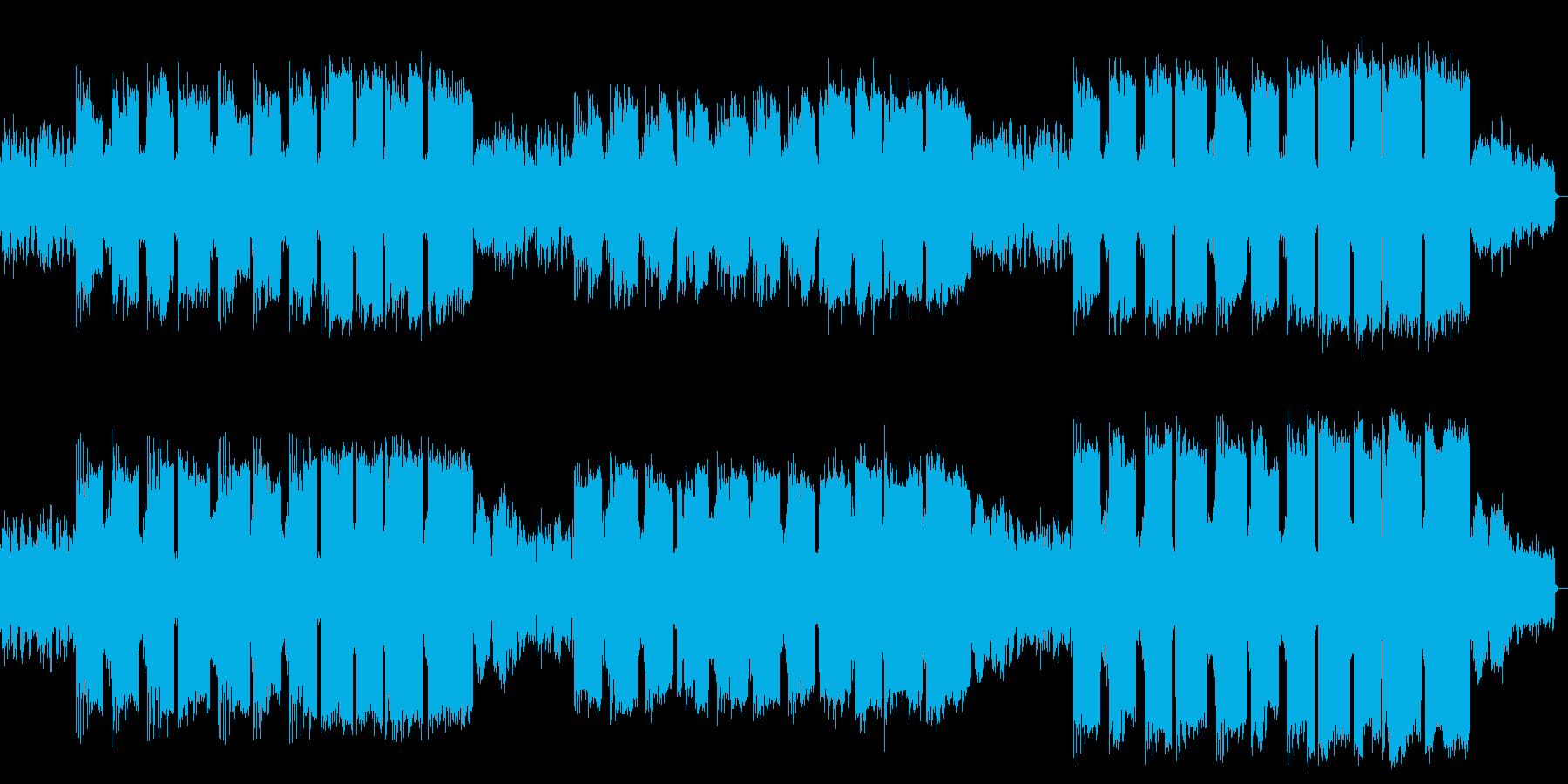ピアノ管楽器によるファンタジックバラードの再生済みの波形
