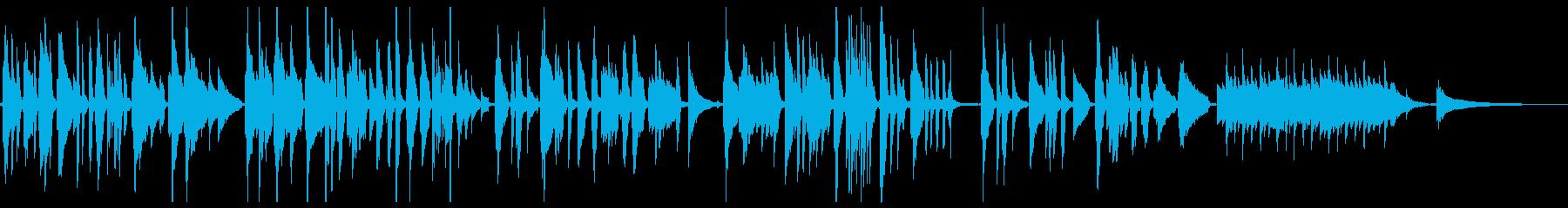 名曲・我は海の子のソロギターの再生済みの波形