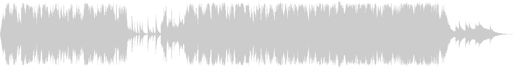 秋冬の感傷に浸るセンチメンタルなチェロの未再生の波形