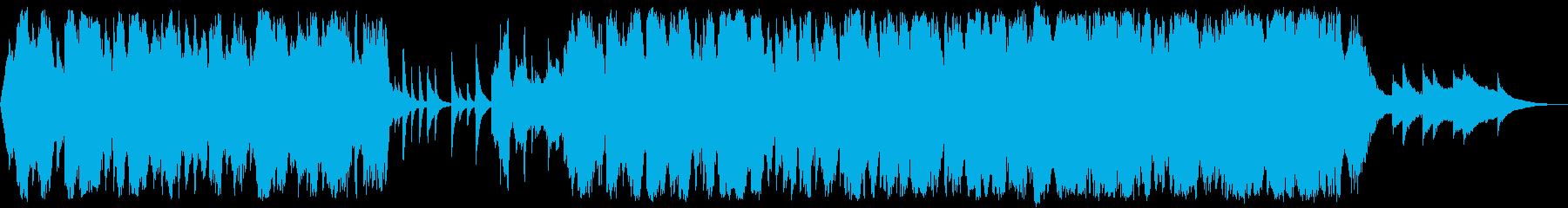 秋冬の感傷に浸るセンチメンタルなチェロの再生済みの波形