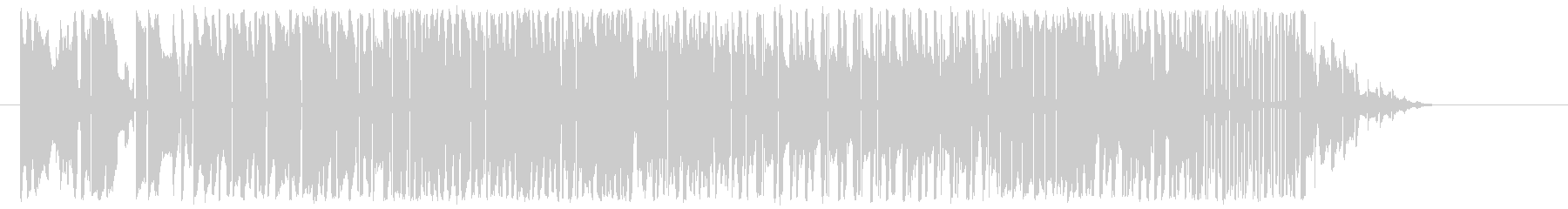 ツーリストブルズの未再生の波形