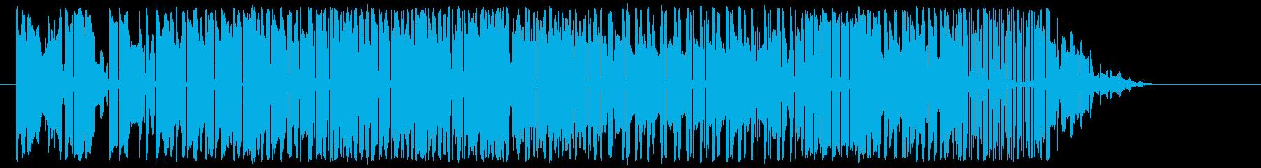 ツーリストブルズの再生済みの波形