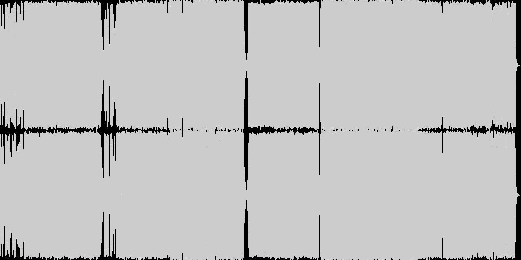 Edm音楽。プログレッシブ。の未再生の波形