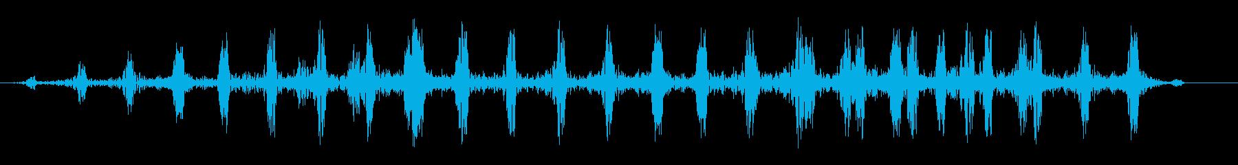 ドクドク・・・(リアルな心臓の鼓動音)の再生済みの波形