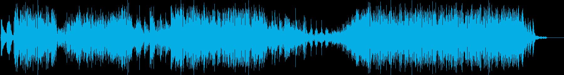 疾走感あるメインテーマ風ピアノインストの再生済みの波形