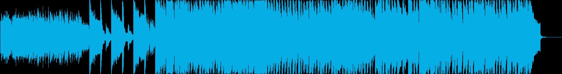 日本の城をイメージしたゲームミュージックの再生済みの波形