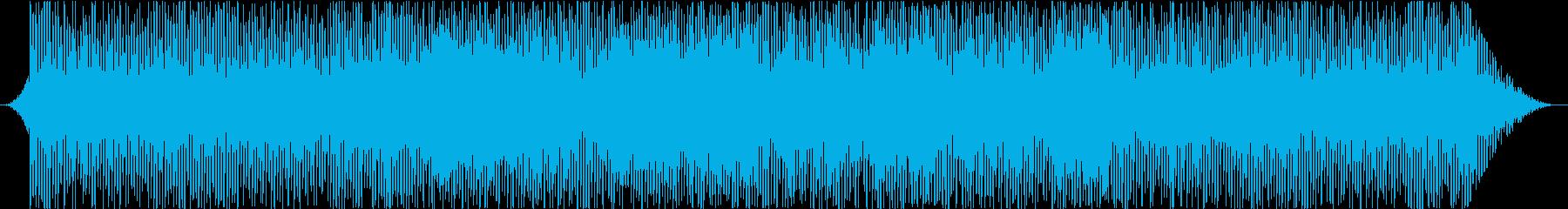 ディストピアなテクノ&チェロの再生済みの波形