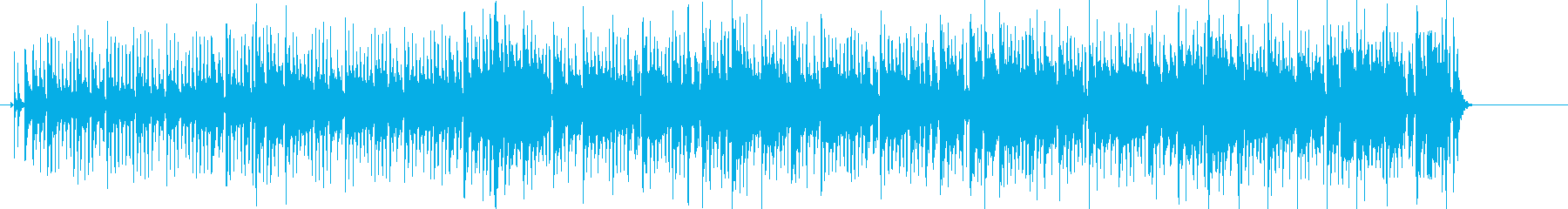 Cheerful and nimble southern country Latin BGM's reproduced waveform