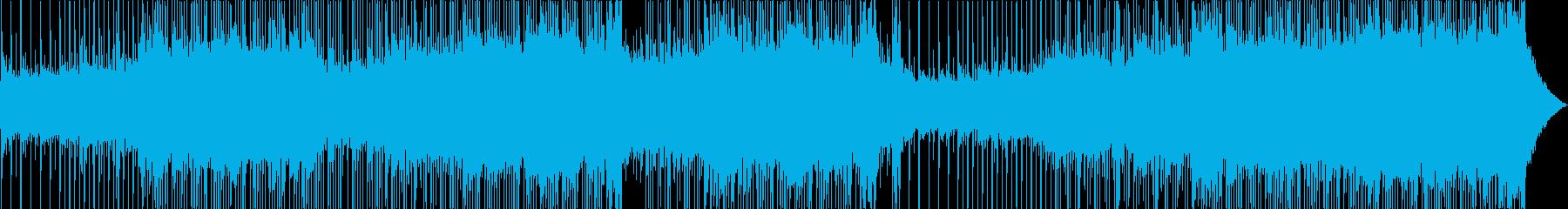 ピアノ、グロッケンシュピール、ギタ...の再生済みの波形