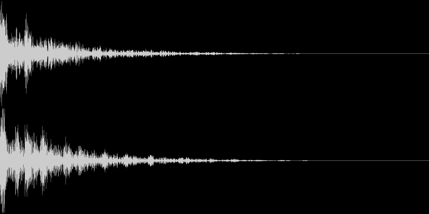 ドーン-50-2(インパクト音)の未再生の波形
