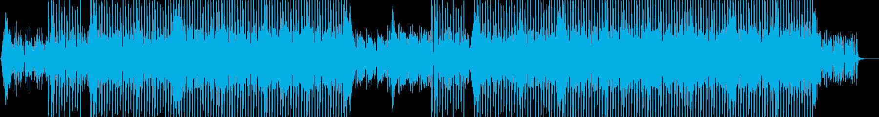 インテリジェンスなコーポレートBGMの再生済みの波形