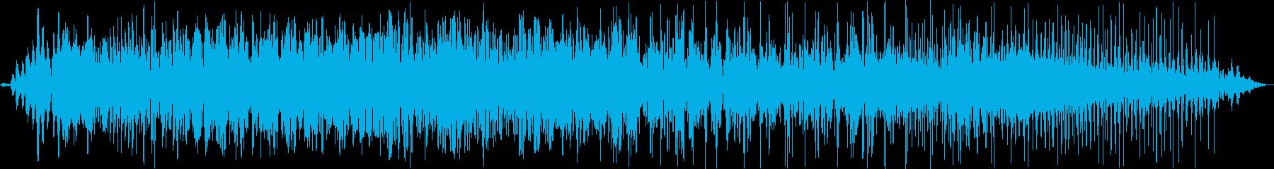 エイリアンクリーチャーグロールの再生済みの波形