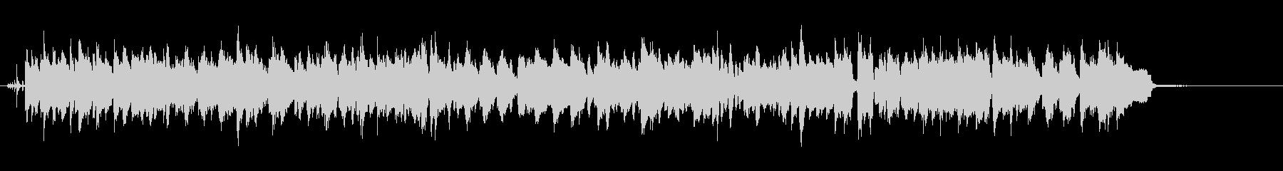 サックスとラッパが軽快なスウィングジャズの未再生の波形