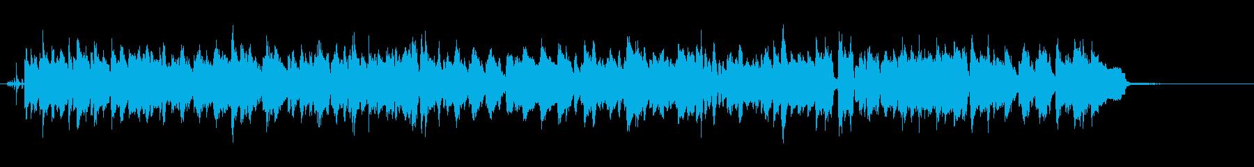 サックスとラッパが軽快なスウィングジャズの再生済みの波形