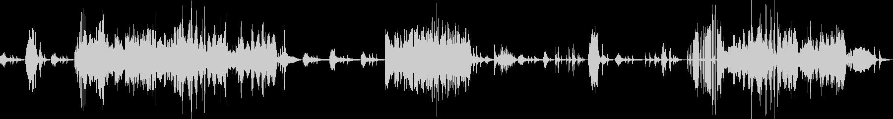ベートーヴェン ピアノソナタ テンペストの未再生の波形