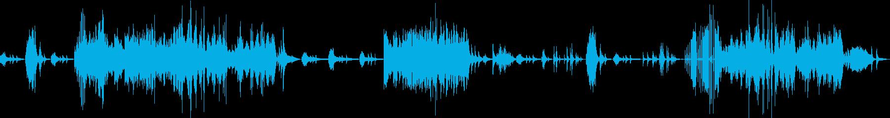 ベートーヴェン ピアノソナタ テンペストの再生済みの波形