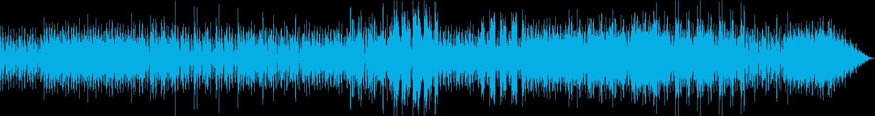 宇宙遊泳の再生済みの波形