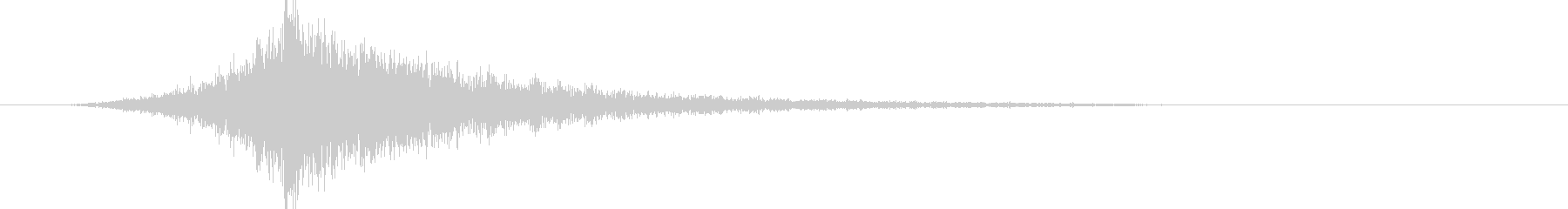 映画告知音46 ドーンの未再生の波形