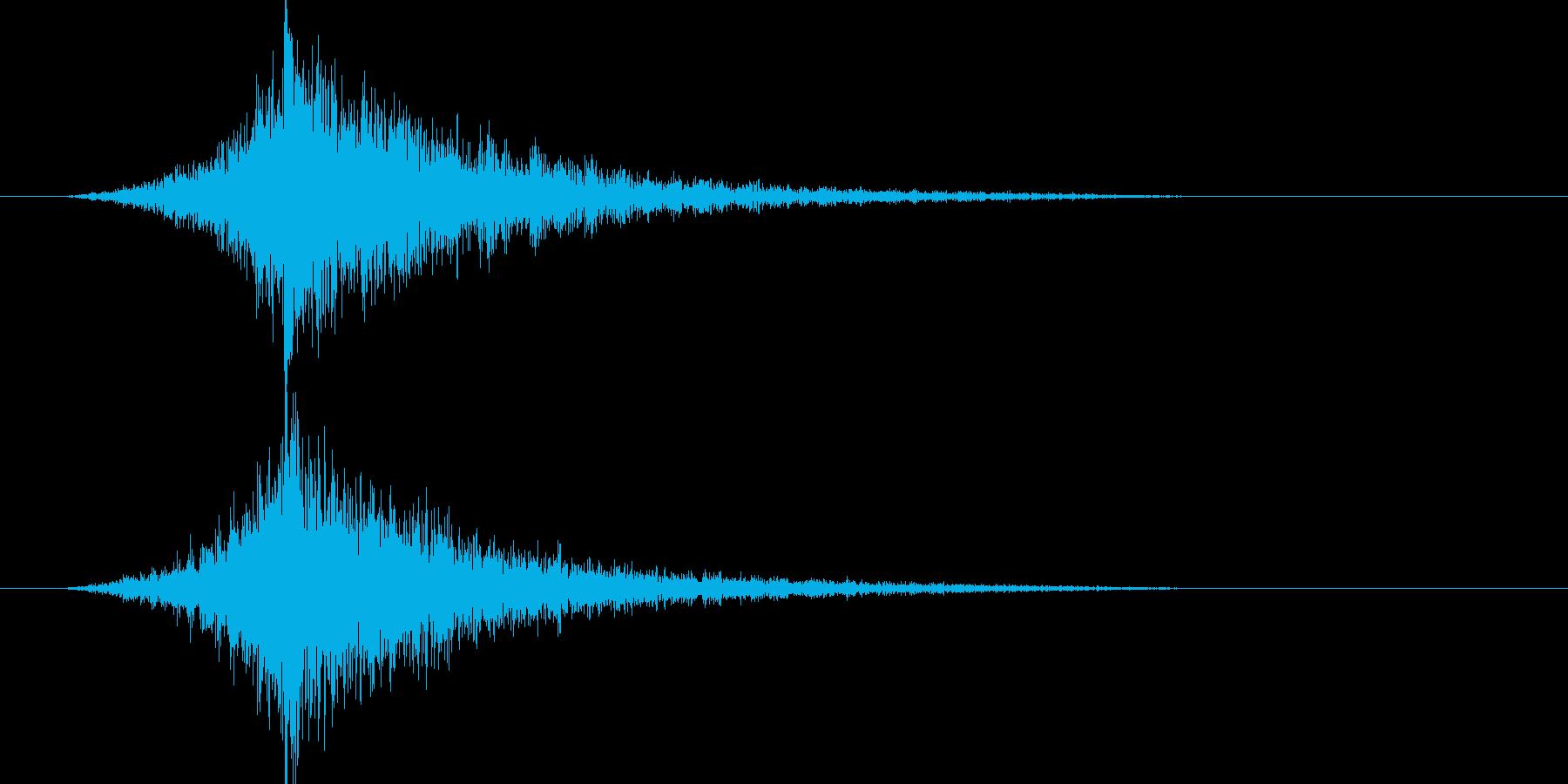 映画告知音46 ドーンの再生済みの波形