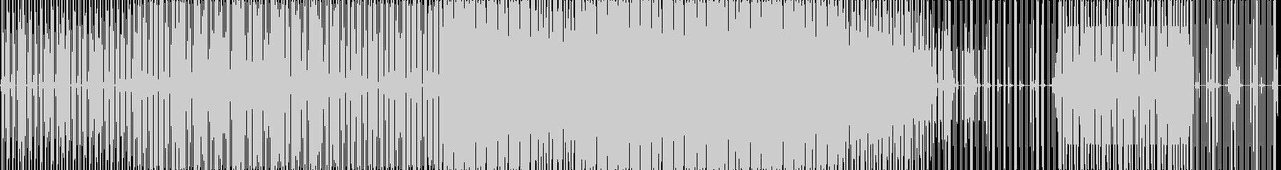 テクノループ。の未再生の波形