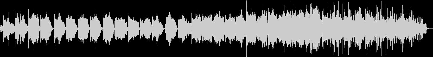 BGM_和風回想曲の未再生の波形