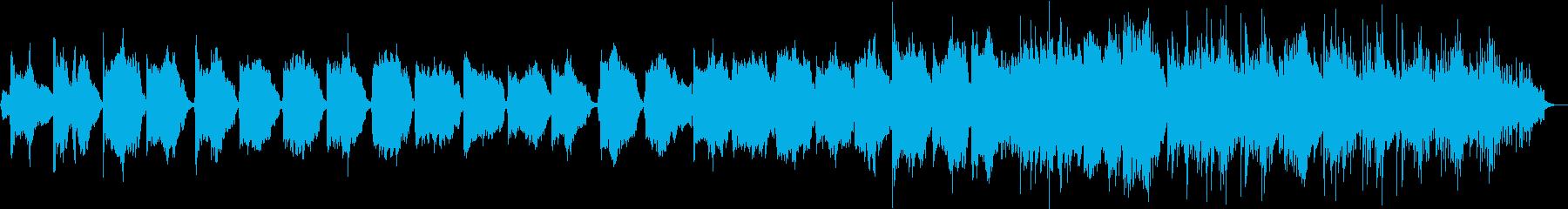 BGM_和風回想曲の再生済みの波形