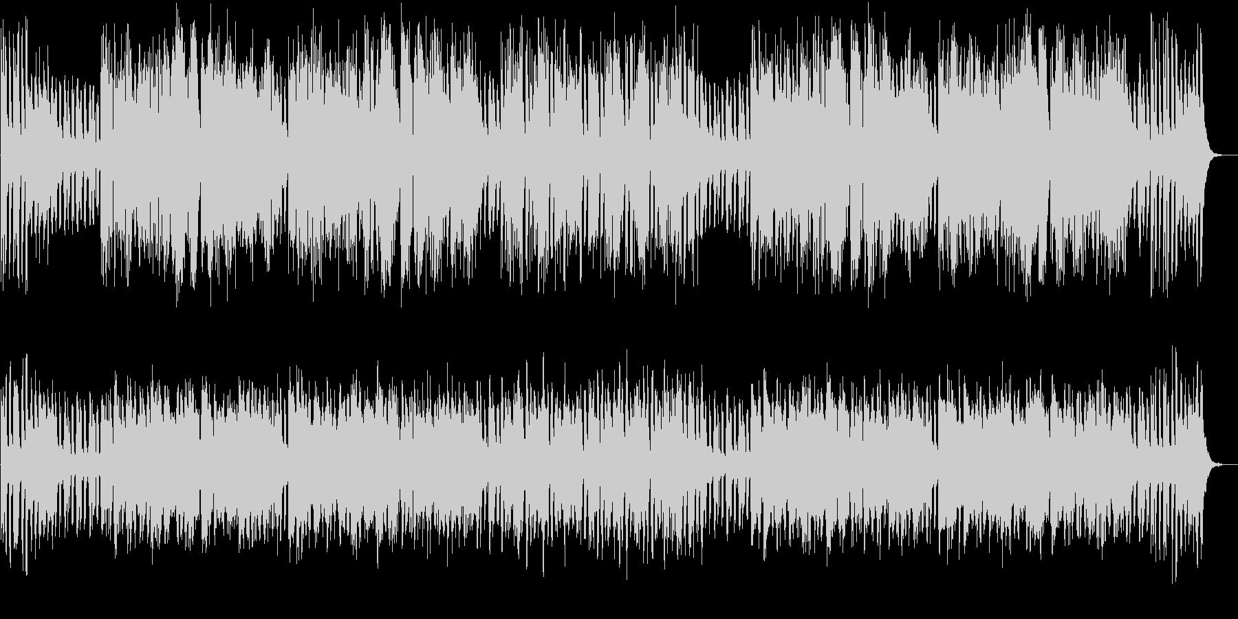 メリーゴーラウンド風ワルツBGM♪の未再生の波形