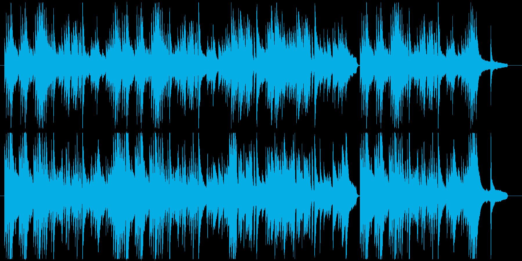 優しい旋律のピアノ楽曲です。の再生済みの波形