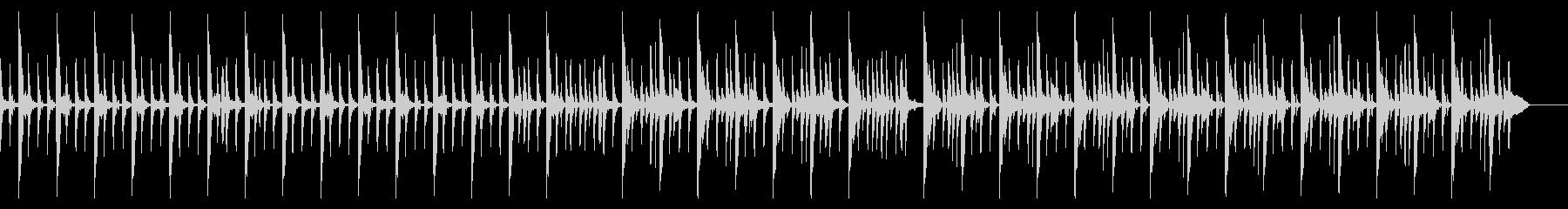 キックなし、167 BPMの未再生の波形