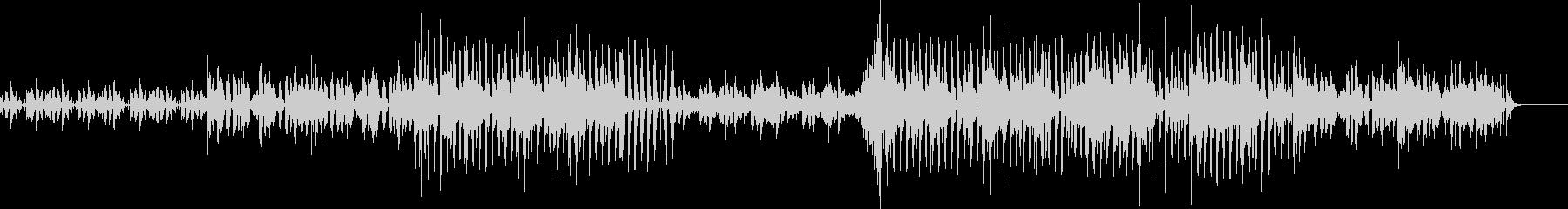 ダウンテンポ・エレクトロの未再生の波形