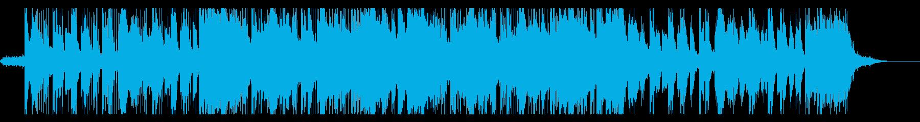 チェロとコントラバスのホラー風trapの再生済みの波形