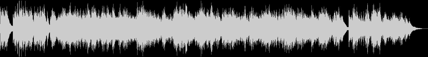 メロ無 爽やかバックグラウンド・ピアノの未再生の波形