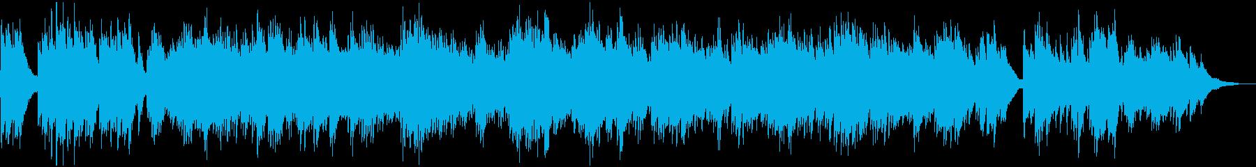 メロ無 爽やかバックグラウンド・ピアノの再生済みの波形