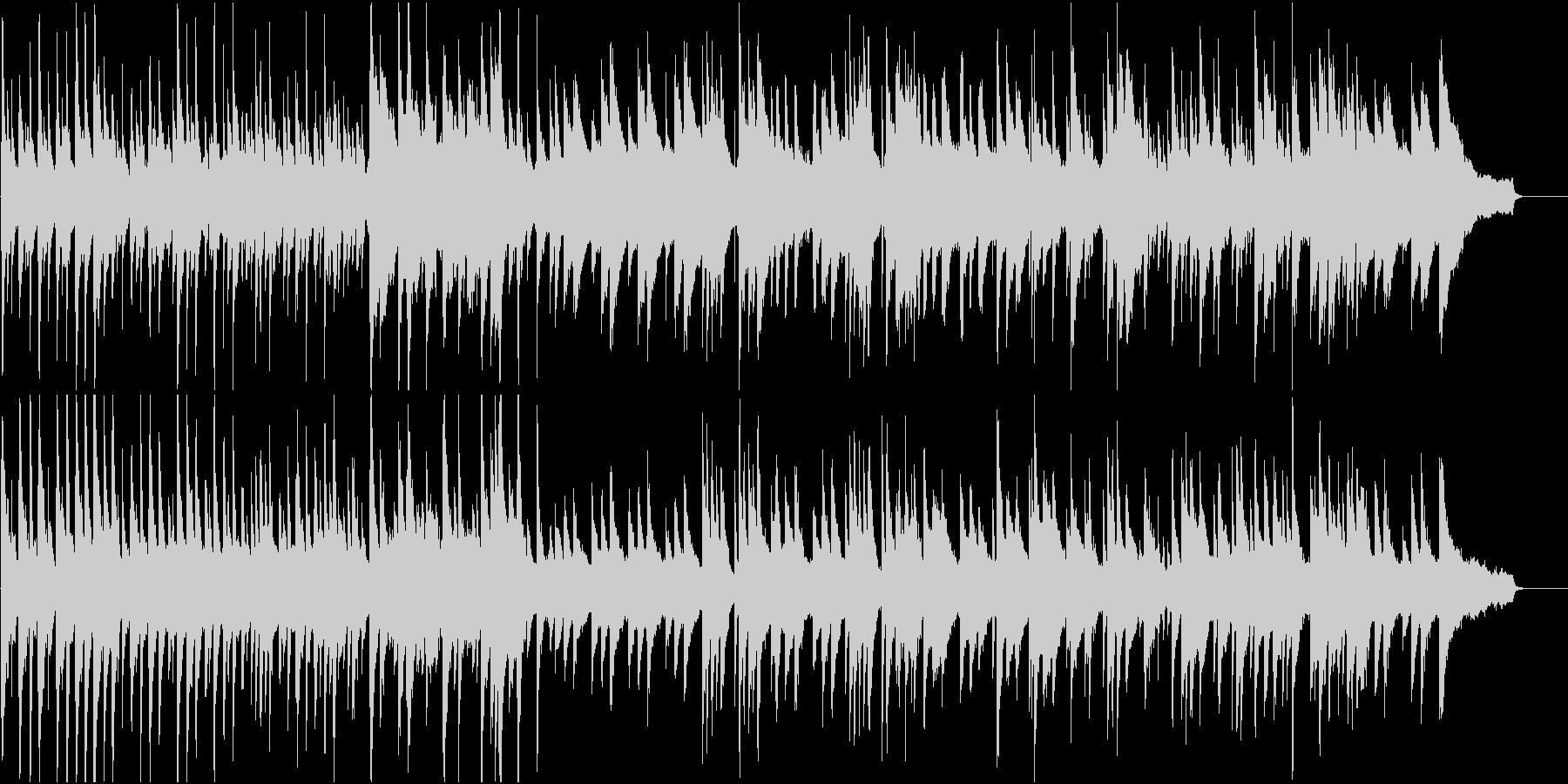 ピアノ楽曲。さびれた宮殿の時計のイメージの未再生の波形