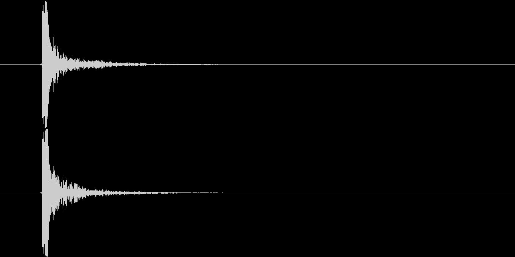 バスドラ・キック音_メタルコア・ラウド系の未再生の波形