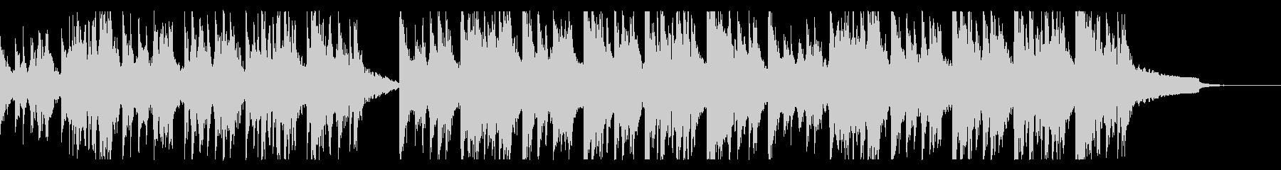ホラーなピアノアレンジの「かごめかごめ」の未再生の波形