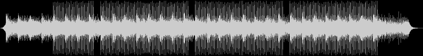 プレゼンテーション音楽の未再生の波形