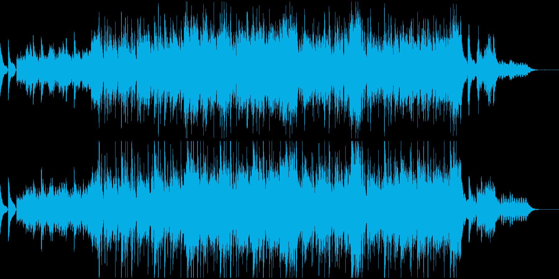 哀しくロマンに満ちた曲 の再生済みの波形