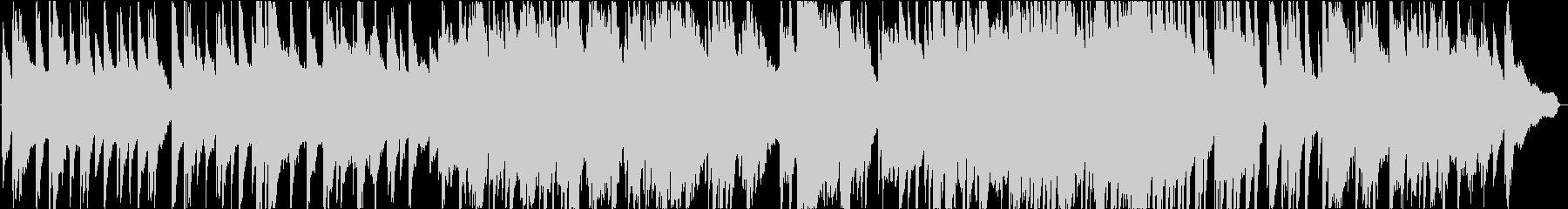 リラックスできるピアノソロ温かいイメージの未再生の波形